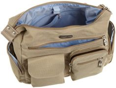 Baggallini Everywhere Bag Luggage Travel Shimmery Bronze Impossible To Find
