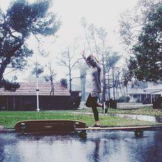 Hamboard in the rain