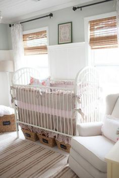 Shabby Chic Nursery With A Cottage Farmhouse Vibe