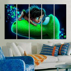 #Good #Dinosaur #Cartoon #kids #Home #Décor #Wall #Art #interior #design #designer #beautiful #woodwork #handmade