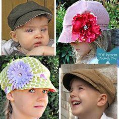 newsboy hat <3