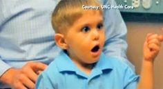 Watch The Miraculous Moment This Deaf Boy Hears His Father's Voice For The First Time.