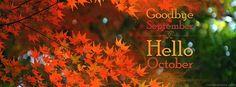 October Fall Facebook Cover