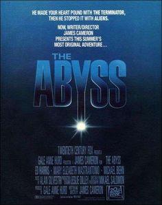 DVD CINE 162 - Abyss (1989) EEUU. Dir: James Cameron. Ciencia ficción. Sinopse: a tripulación civil dunha instalación petrolífera é contratada pola mariña norteamericana para conducir unha operación de rescate dun submarino nuclear atrapado no fondo do mar, en misteriosas circunstancias, ao bordo dunha greta abisal de varios quilómetros de profundidade.