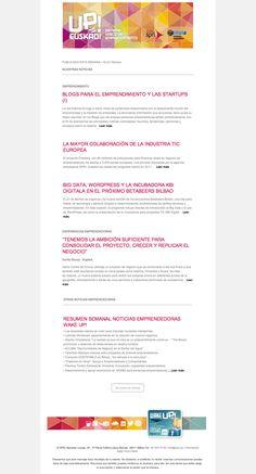 Noticias de Emprendimiento- UP Euskadi (16-22 Febrero) 24/02/2015