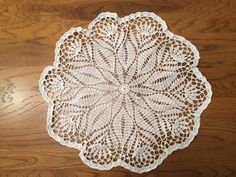 How to crochet a doily - Part 1