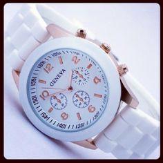 Reloj Geneva Blanco