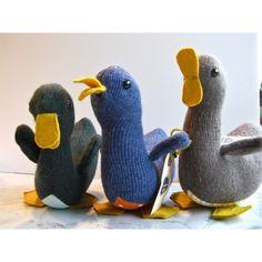 Stuffed ducks.