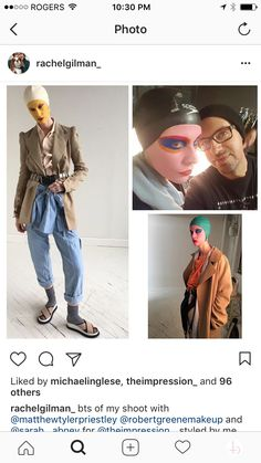 Rachel Gilman #stylist behind the scenes on the set of her Impression shoot 2017 featuring #bettybarbs