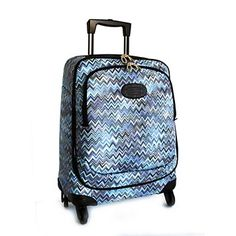 """Missoni for Bric's 21"""" Carry-on Spinner   Bloomingdale's <--I want to like it because it's Missoni, but I don't"""