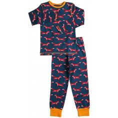 Maxomorra Foxes Pyjamas