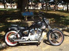 Yamaha Xv Virago 250cc. Bobber. chopper. old school. Troco por moto 125 ou carro antigo