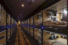 Capsule Hotel Anshin Oyado in Tokyo is a luxury pod hotel.