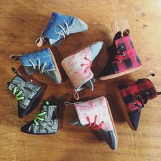 by Finnbear Kicks & Capers Baby Booties, Baby Shoes, Hightop Shoes, Boxing Boots, Perfect Fit, High Tops, Sunglasses Case, Kicks, Fabric