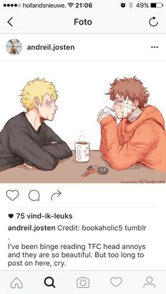 IT ALWAYS MAKES ME SO SAD WHEN I SEE DRAWINGS OF NEIL LIKE THIS and this is after their shower together, shouldn't they have wet hair?