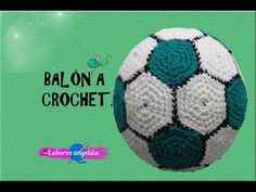 Crochet Ball, Crochet Toys, African Flowers, Crochet Videos, Stuffed Toys Patterns, Soccer Ball, Make It Yourself, Knitting, Sewing