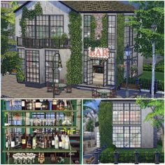 Sims 4 CC's - The Best: Botanique Bar by MayaPapayaStyle