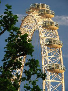 London Eye - wasn't a huge fan of London outside the historic sites, but this was fun!