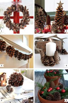 Pine Cone Crafts for Christmas - Easy Ideas