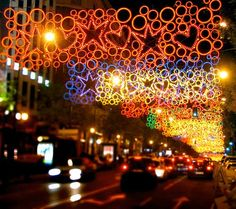 Madrid Christmas Lights