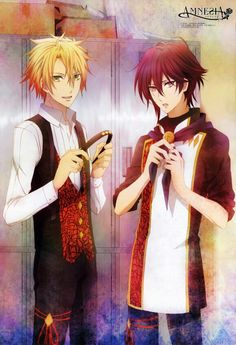 Shin and toma from Amnesia