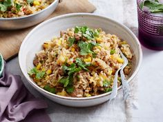 Packed full of Caribbean flavours, this delicious pork and pineapple rice is the perfect easy recipe for your make-ahead work lunches or a tasty dinner the whole family will adore.