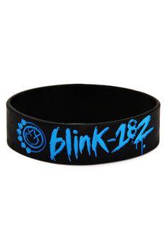 BLINK 182 RUBBER WRISTBAND BRACELET MUSIC FESTIVALS a