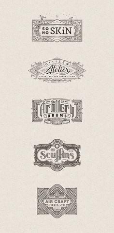 Beautiful Logos by Joe White | Abduzeedo Design Inspiration