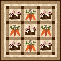 FREE Bunny Dreams Quilting Pattern - Available on Craftsy.com