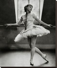 Margaret Petit was an accomplished ballerina who performed in John Murray Anderson's 'Greenwich Village Follies' in the 1920s, along with legendary dancer Martha Graham. But she was better known as the mother of actress Leslie Caron, who danced opposite Gene Kelly in 'An American in Paris' at the age of 19. Petit, in dance costume, leans against the barre in this photograph by Nickolas Muray, which is from the Condé Nast Archive.