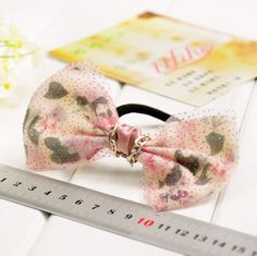 yiwuproducts:    Floral big bow hair band
