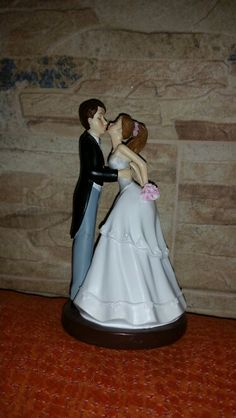 Figura tarta novios. Mi boda