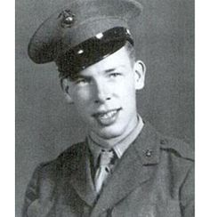 Actor, PFC Lee Marvin US Marine Corps (Served 1942-1945) Short Bio: Lee Marvin was born on February 19, 1924, he served with the Marine Corps during World War II in the Pacific and was awarded a Purple Heart for a wound that he received there. He was wounded (in the buttocks) by fire which severed his sciatic nerve, during the battle for Saipan in June 1944.