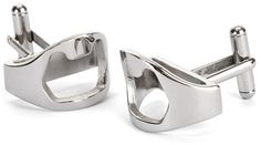 """Bottle Opener Cuff Links """"Formal events are really just an excuse to drink!"""" - Have to buy these for someone!!! :D"""