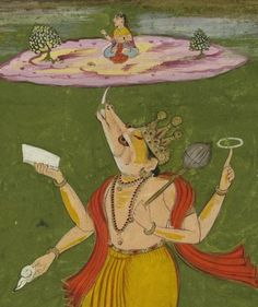 Indian Epics: Images and PDE Epics: Image: Varaha