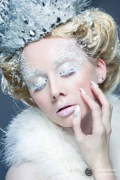 Once upon a time, there was she, The Snow Queen...