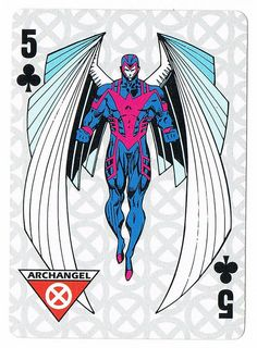 Archangel - Five of Clubs by Marc Silvestri by stormantic, via Flickr