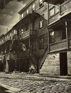 Shenandoah houses. Schuylkill County, Pennsylvania. 1938-1939