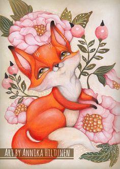Annika Hiltunen: Tiny Little Fox // Pieni ketunpoikanen