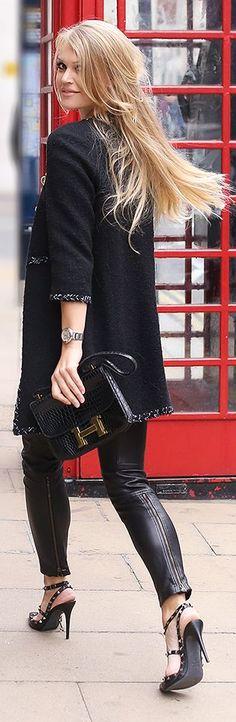 057e3050af Black Tweed Jacket by ByCelina love this jacket and pants Téli Divat, Női  Divat,