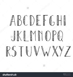 Find Hand Drawn Alphabet Set Pencil Texture stock images in HD and millions of other royalty-free stock photos, illustrations and vectors in the Shutterstock collection. Hand Lettering Alphabet, Doodle Lettering, Lettering Styles, Handwriting Fonts Alphabet, Cool Handwriting Fonts, Cool Writing Fonts, Letter Fonts, Alphabet Writing, Chalk Lettering