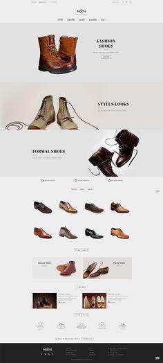 0dea52a0f #Modern #Fashion #Shoes #Parallax #Partywear #eCommerce #Opencart  Responsive #multipurpose Theme