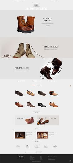 #Modern #Fashion #Shoes #Parallax #Partywear #eCommerce #Opencart Responsive #multipurpose Theme
