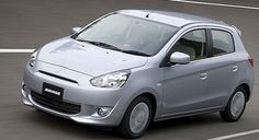 Mitsubishi will launch a new compact car for the European market at the Paris Motor Show later this month.