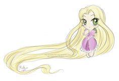 Chibi Rapunzel | Chibi Rapunzel by Hanami-Mai