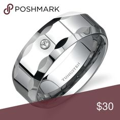 ff71590596f Tungsten Ring Style 28 Tungsten carbide is the most scratch resistant metal  known to man.