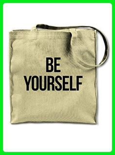 Be Yourself Motivational Text Tote Shoulder Bag - Totes (*Amazon Partner-Link)