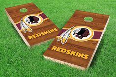 Washington Redskins Cornhole Board Set - Logo