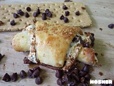 S'mores Rugelach | The Nosher - My Jewish Learning (especially great for Lag B'Omer when you can't have a real campfire!)
