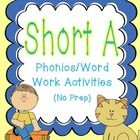 This unit contains a variety of activities to help your students grasp the short a sound. It is ideal for beginning readers working on short vowel ...